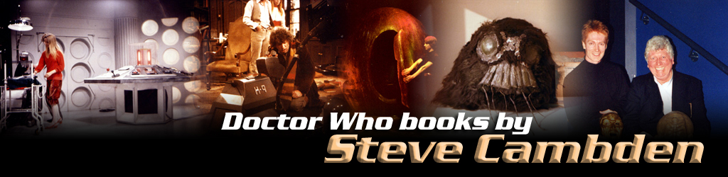 Steve Cambden K9 Doctor Who books