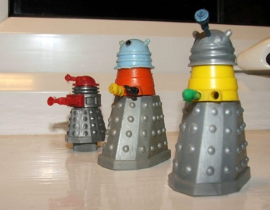 1960s Doctor Who Toys